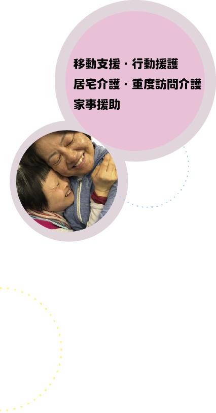 行動援護・移動支援・居宅介護・重度訪問介護
